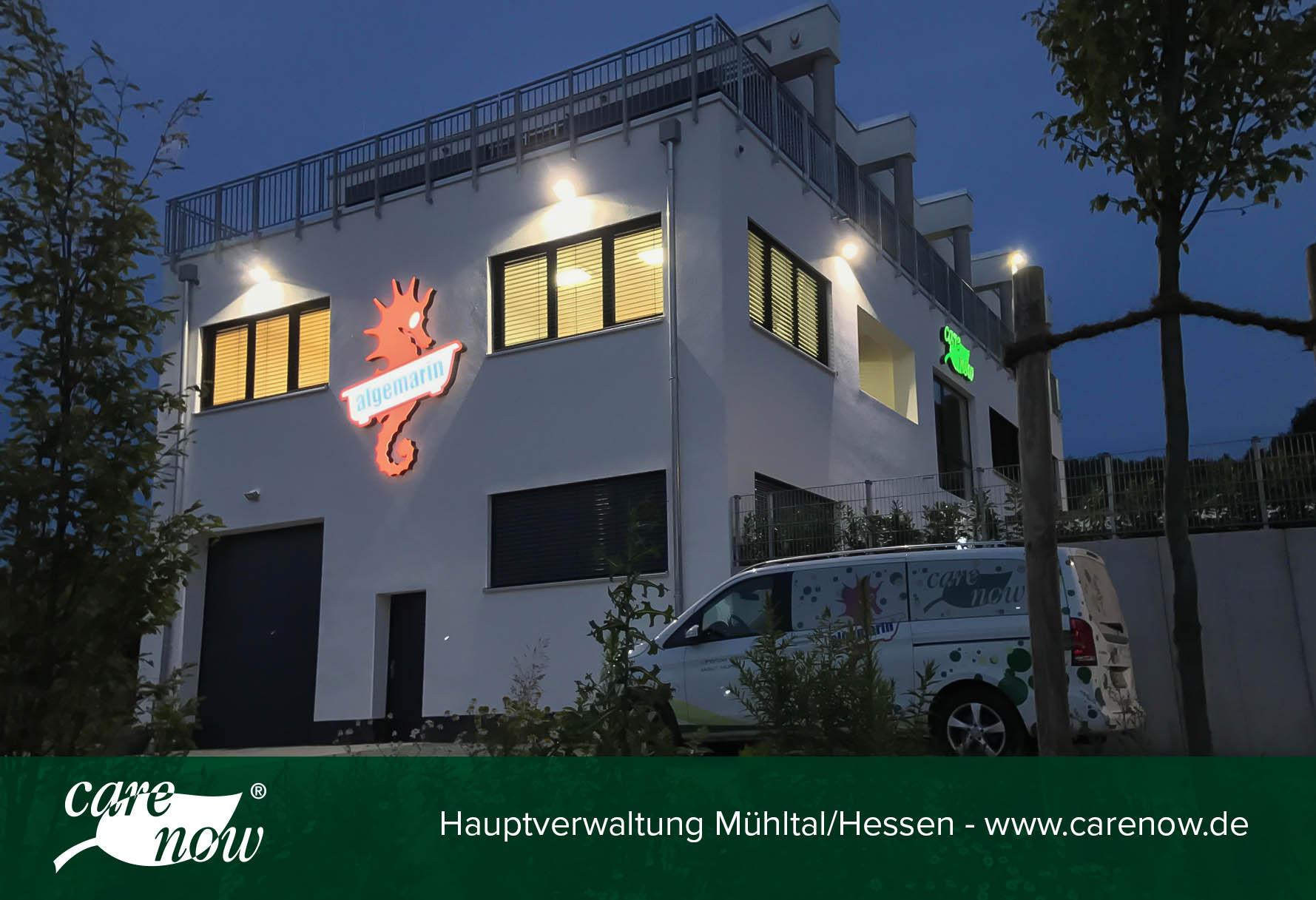 Die Zentrale der Carenow GmbH in Mühltal